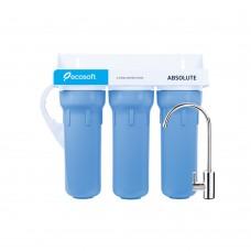 Тройной проточный фильтр Ecosoft Absolut